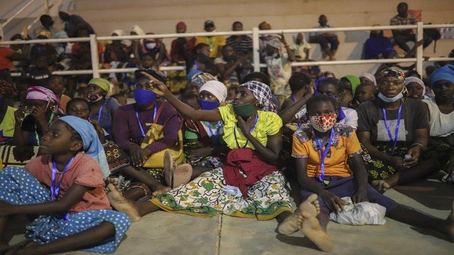Mozambique IDPs seek shelter after Islamist attack in Palma